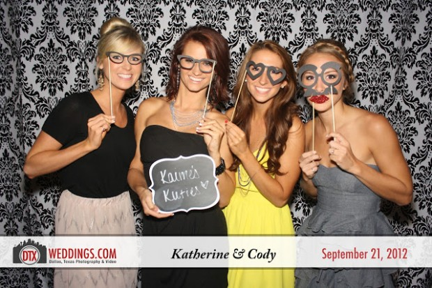 Katie and Cody's Wedding Photobooth | Dallas Photography