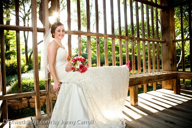 Lindsay Bridals at the Japanese Gardens in Fort Worth, TX