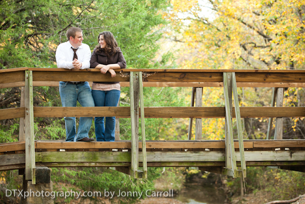 Lori and Kyle Engagement Shoot | Grapevine Springs Park, Coppell, TX