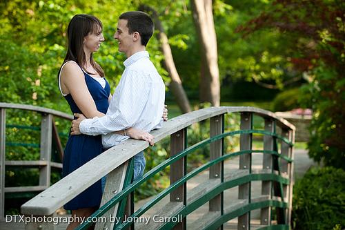 Garren and Carlye Engagement | Fort Worth Wedding Photographer
