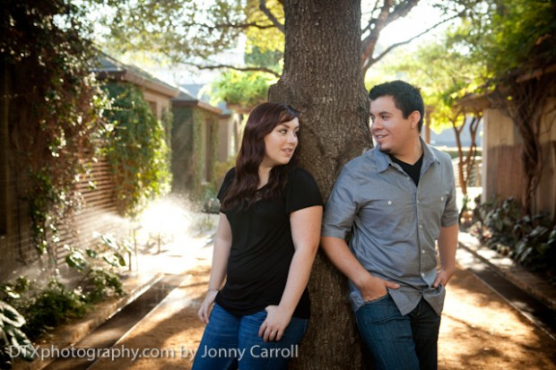 Devin and Kayla's Engagements in Austin, TX