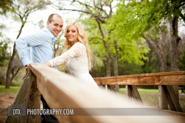Kristen and Drew's Engagement Shoot in Coppell, TX