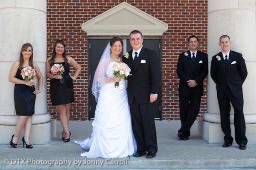 Lori and Kyle Wedding Photography in Denton, Texas