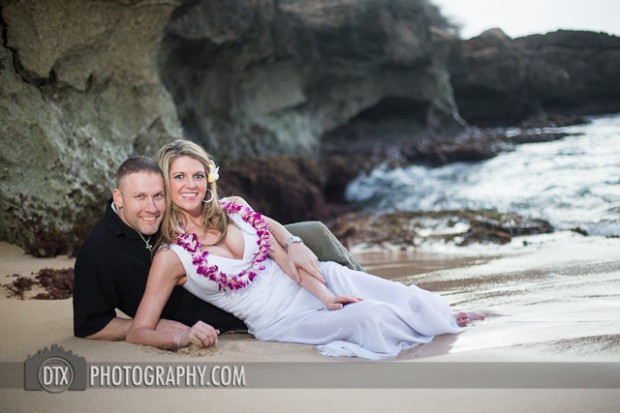 Joel and Katie's destination trash the dress wedding photoshoot – Oahu Hawaii