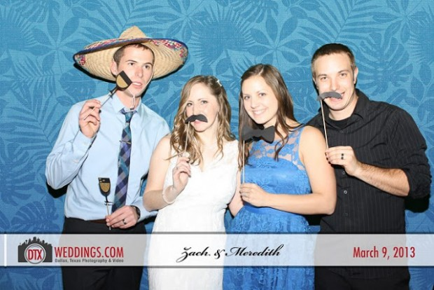 Zach and Meredith's Photobooth