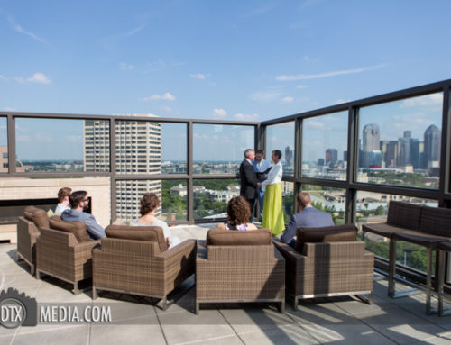 Sabrina and Steve's Uptown Dallas Rooftop Wedding
